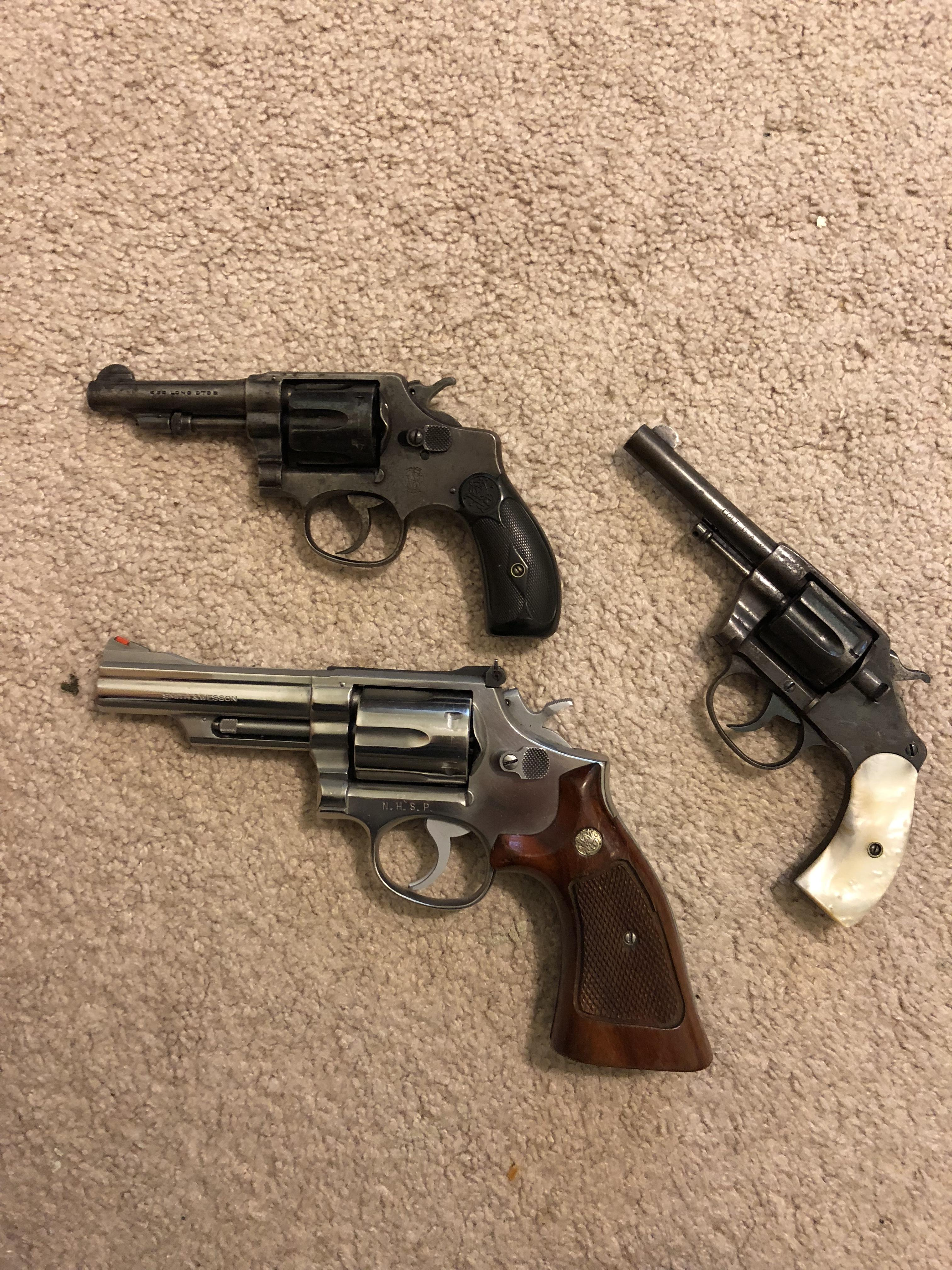 WTS: Colt & S&W Revolvers